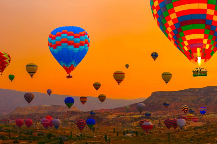 E – Class Hot Air Balloon Tour
