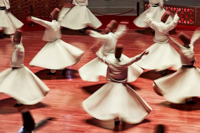 Whirling Dervishes Show
